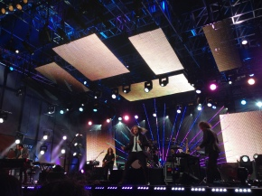 Jim James Performs on Jimmy KimmelLive